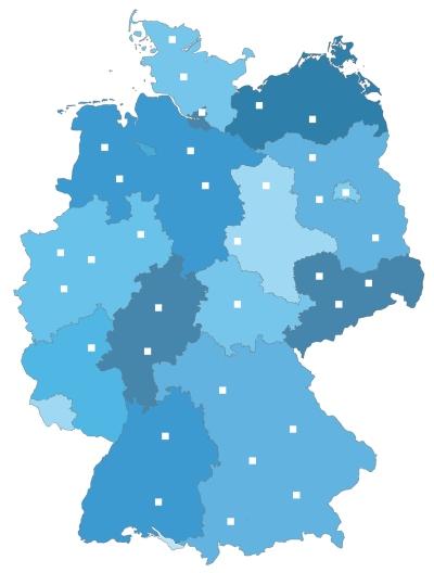 DMRZ - Landkarte